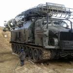 Muzeum Polskiej Techniki Wojskowej przy Powsińskiej 13 - (chyba) jakiś wóz bojowy