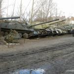 Muzeum Polskiej Techniki Wojskowej przy Powsińskiej 13 - troszkę czołgów