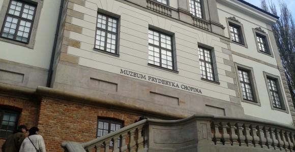 Muzeum Fryderyka Chopina w Warszawie - wejście