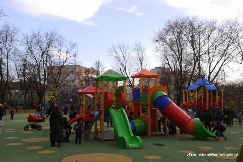 Konstrukcja - Plac zabaw przy Pl. Wilsona z górki