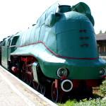 Eksponat w Muzeum Kolejnictwa w Warszawie na Towarowej 1