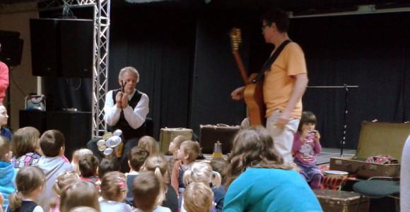 OKO - Sobotnie Spotkania Muzyczne, Bogdan Kupisiewicz i Mariusz Puchłowski w akcji