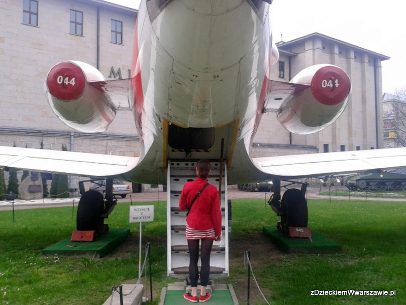 Muzeum Wojska Polskiego w Warszawie, ekspozycja plenerowa