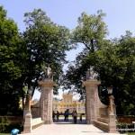 Pałac w Wilanowie - brama