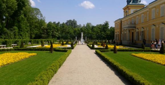 Pałac w Wilanowie - uciekająca panna młoda