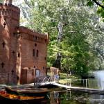 Park w Wilanowie - wynajem łódek