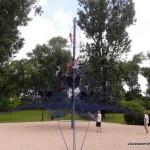 Park Kępa Potocka - większy plac zabaw