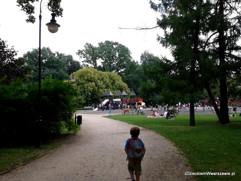 Park ujazdowski, Plac zabaw w Parku Ujazdowskim