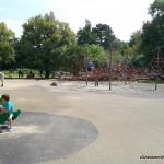 Plac zabaw w Parku Ujazdowskim