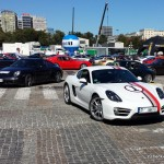 Parada Porsche - Plac Defilad 07.09.2013 Warszawa