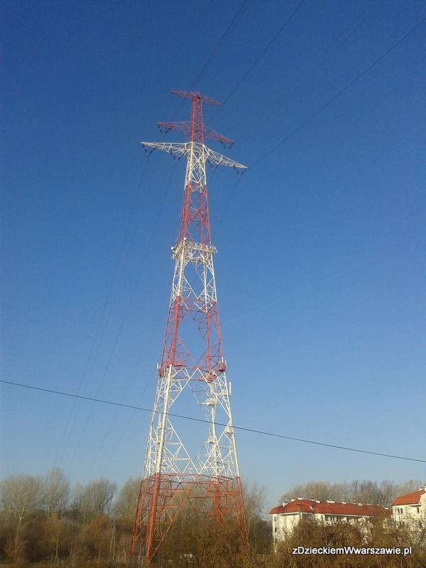 127 metrów – najwyższy słup wysokiego napięcia w Polsce
