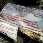 Ostrzeżenie w Farmie Dyń