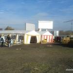 Farma dyń w Powsinie - od tyłu