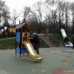 Plac zabaw w Parku Marszałka Edwarda Śmigłego- Rydza