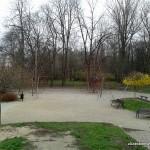 Plac zabaw w Parku Marszałka Edwarda Śmigłego-Rydza - konstrukcja z lin
