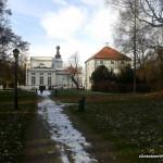 Park na tyłach Pałacu w Jabłonnie