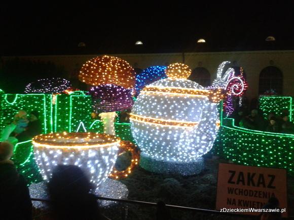 Labirynt Światła - Wilanów zima 2013/2014