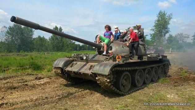 Za drobną opłatą można zostać pasażerem czołgu