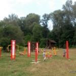 Siłka pod gołym niebem  - Park Młociński