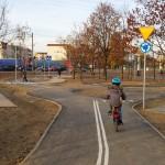 Miasteczko drogowe na Tarchominie – przy skate parku i Biedronce