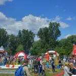 18. Piknik Olimpijski w Parku Kępa Potocka