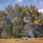 Polana w Parku Młocińskim przy Papirusów – czyli zmiana na o 180 stopni.