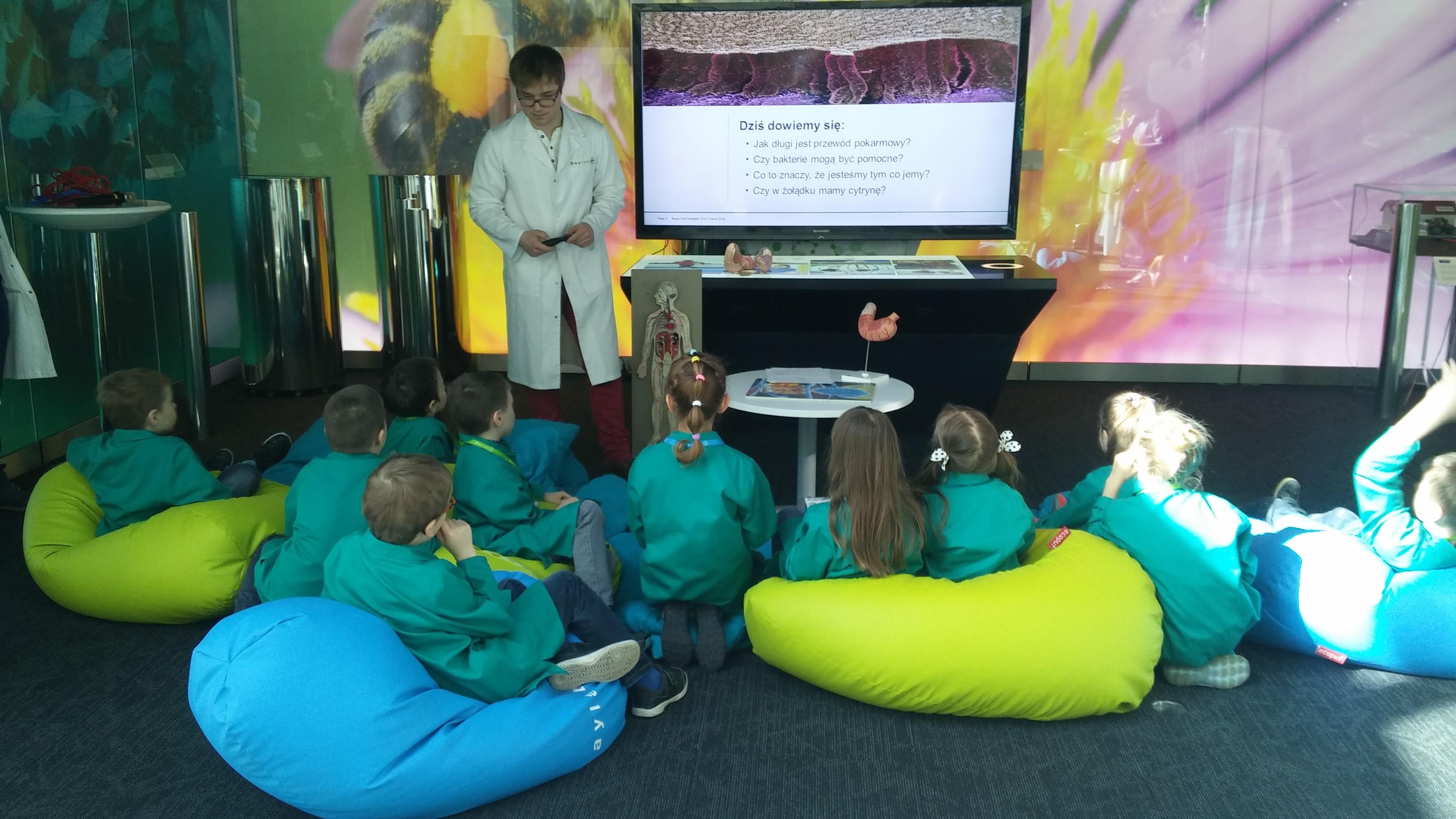 Baylab- czyli warsztaty dla dzieci w Bayer