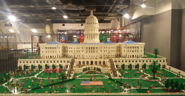 Kapitol z Lego