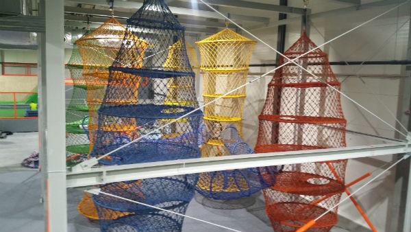 nowe konstrukcje Jump Arena, trampoliny - Marywilska 44,