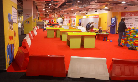 Strefa dla najmłodszych na Wystawie Lego