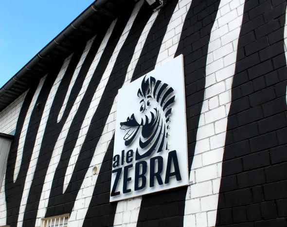 Ale Zebra Szyld