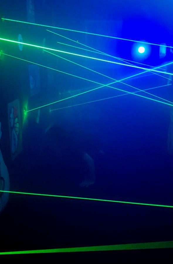 laser labirynt Ale Zebra