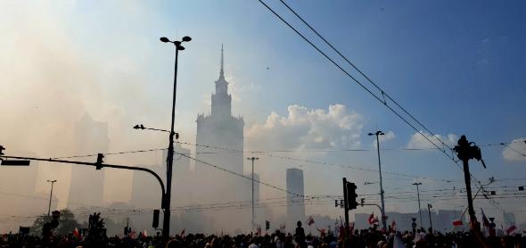 Rocznica Wybuchu Powstania Warszawskiego z dzieckiem. Zdjęcia 360 stopni