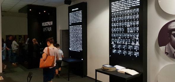 Niewidzialna Wystawa ekspozycja widzialna