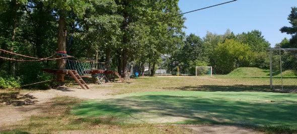 mini park linowy w Sporteum