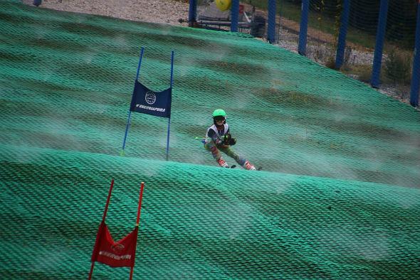Slalom na Górce Szczęśliwickiej