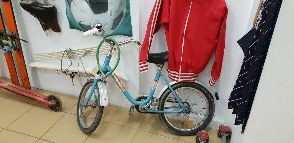 Rower prawie jak BMX (jak się zdjęło błotniki)