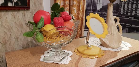 Piękne, dekoracyjne, sztuczne owoce