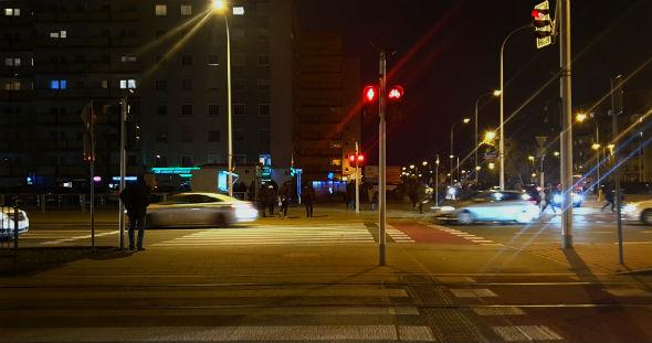 Z dzieckiem w Warszawie – na przejściach, na czerwonym świetle