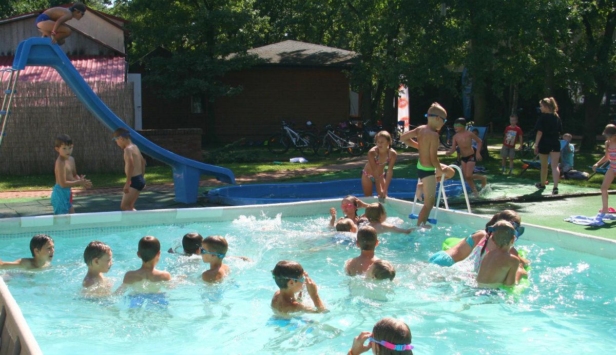 Półkolonie w Sporteum - basen