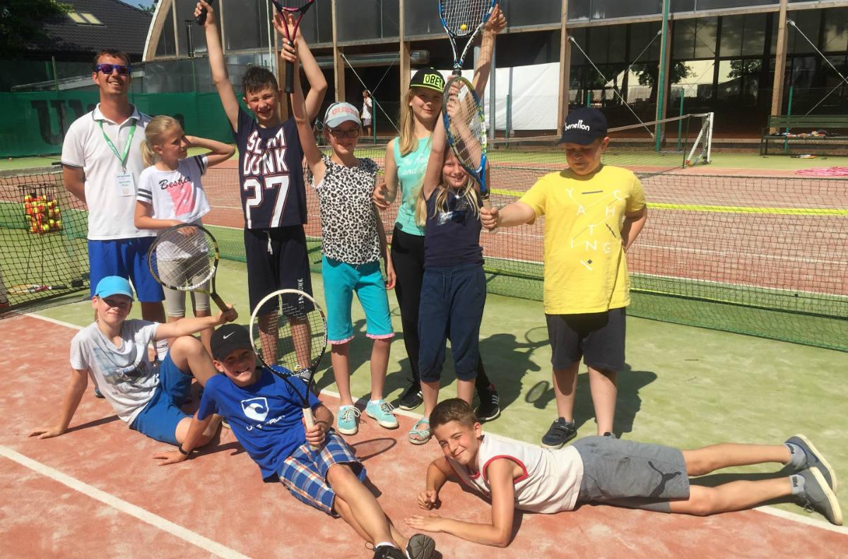 Półkolonie w Sporteum tenis