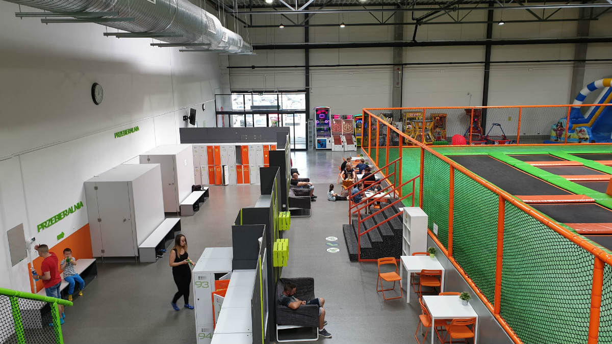 szatnia Jump Arena