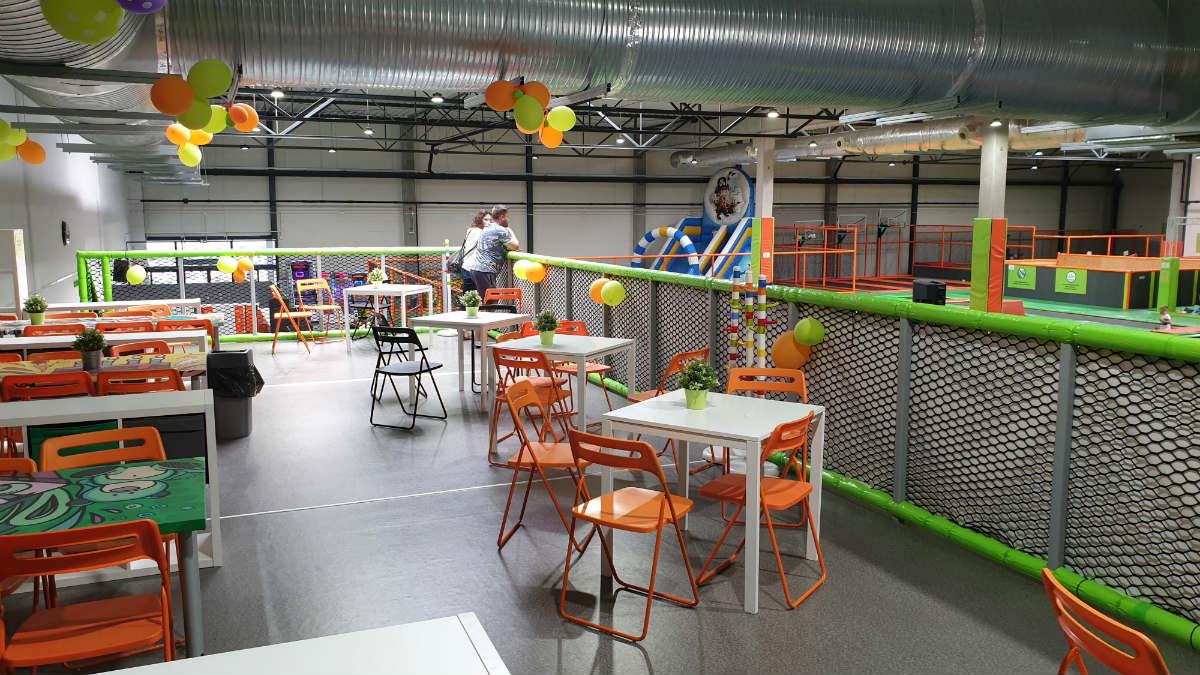Jump arena na urodziny dla dziecka