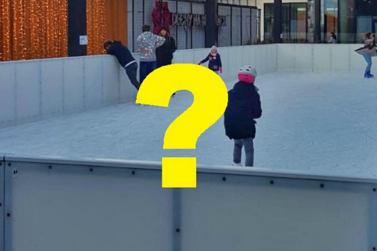 Jak naprawdę wygląda lodowisko na dachu Galerii Młociny? Zobacz zdjęcia