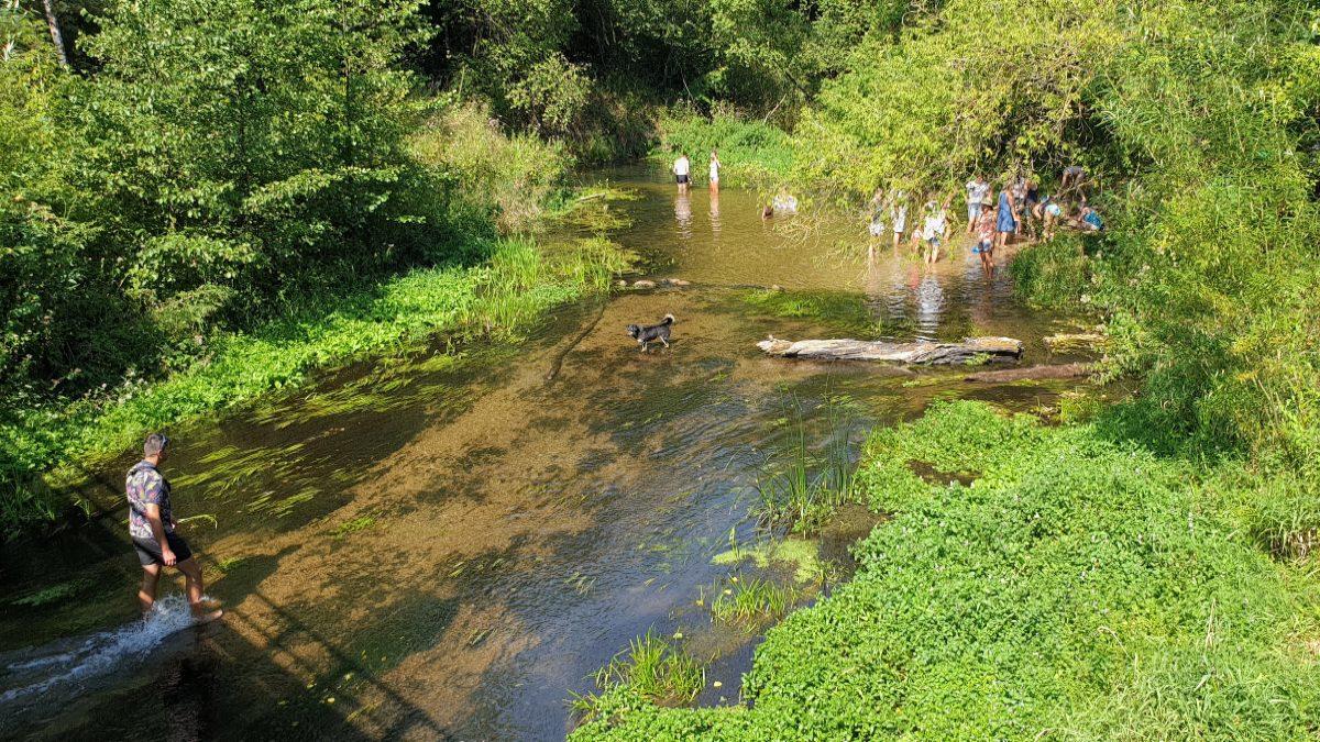 rzeka sona mostek